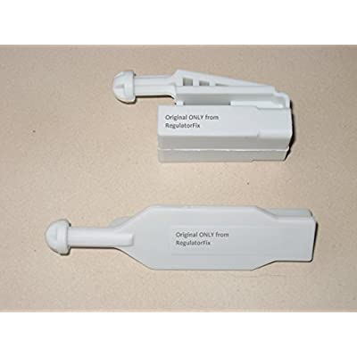 RegulatorFix Headlight Adjuster Angel Eyes Xenon Halogen Pair compatible with BMW E39 2000-2003 528 530 540 M5: Automotive