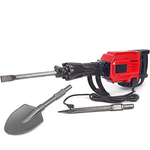 XtremepowerUS Heavy Duty Electric Demolition Jack hammer,, used for sale  Delivered anywhere in USA