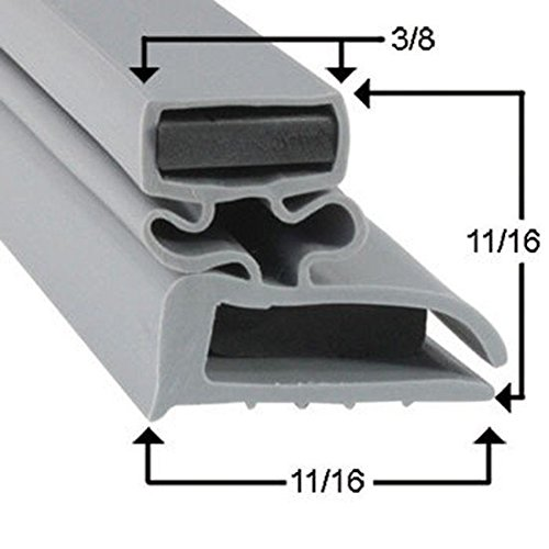 Progressive Refrigeration Magnetic Door Gasket for Part# 1711-119
