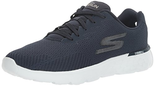 Skechers Performance Heren Go Loop 400 Disperse Hardloopschoenen Marine