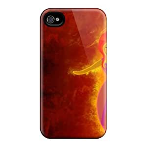 New Style Luoxunmobile333 Flame Princess Adventure Time Premium Covers Cases Ipod Touch 5