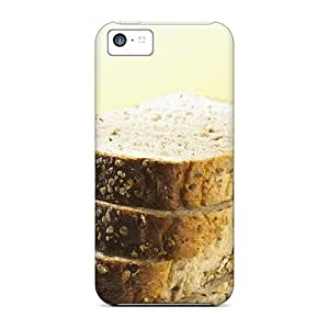 Sanp On Case Cover Protector For Iphone 5c (bread Food)