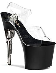 Pleaser Bondgirl-708 Sexy Exotic Fashion 7 Heel Platform Sandal.