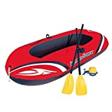 Crystalzhong Touring Kayak Two Thicker Kayak Dinghy Inflatable Boat Hovercraft Inflatable Assault Boat Inflatable Boat Fishing Boat/Red in A Range of Bright Colours