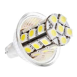 MR11 5W 27x5050 SMD 400-420LM 6000-6500K Natural White Light LED Corn Bulb (12V)