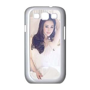 Samsung Galaxy S3 9300 Cell Phone Case White Pure Sunshine Sexy Girl In Dress SU4349789