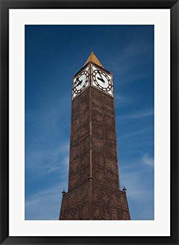 tunisia-tunis-avenue-habib-bourguiba-clock-tower-by-walter-bibikow-danita-delimont-framed-art-print-