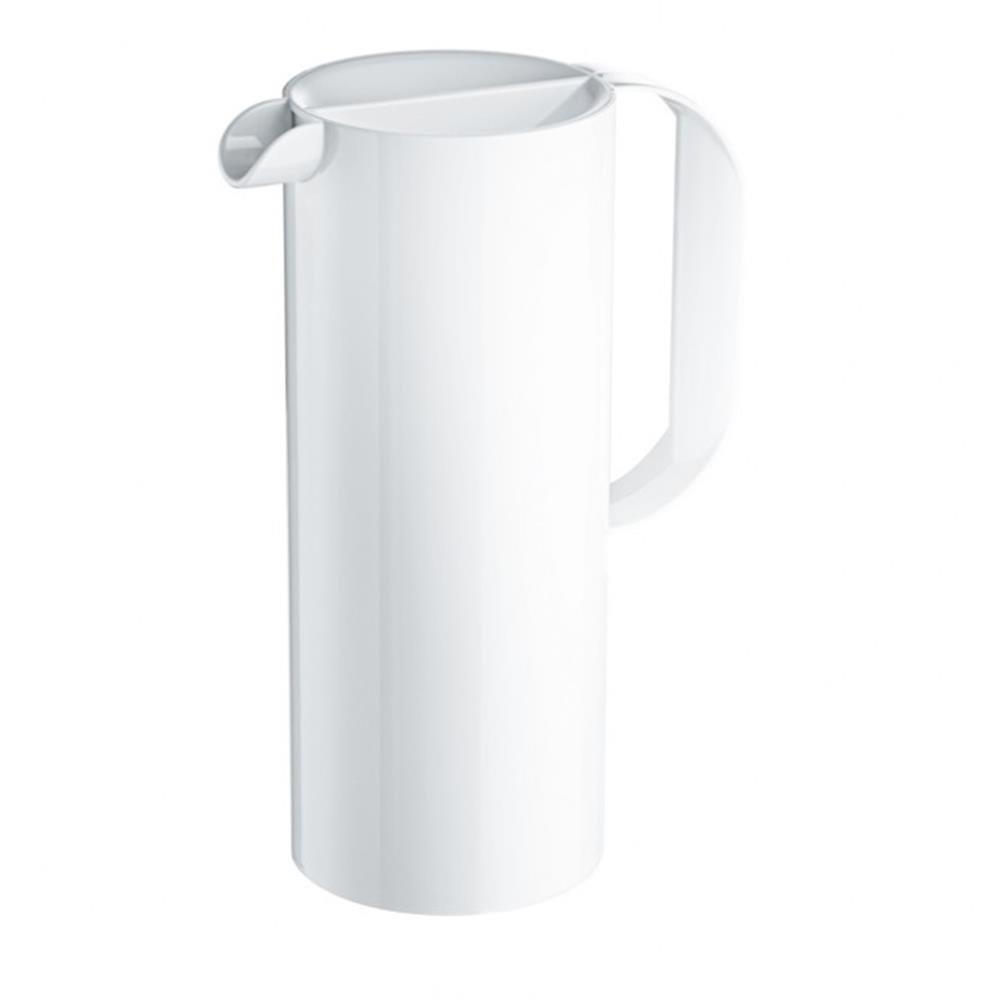 Koziol rio, jarra blanca minimalista de 1,3 litros