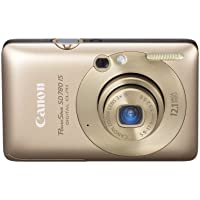 Canon PowerShot SD780IS 12.1 MP Digital Camera with 3x Optical Image Stabilized Zoom and 2.5-inch LCD (Gold) Review Review Image