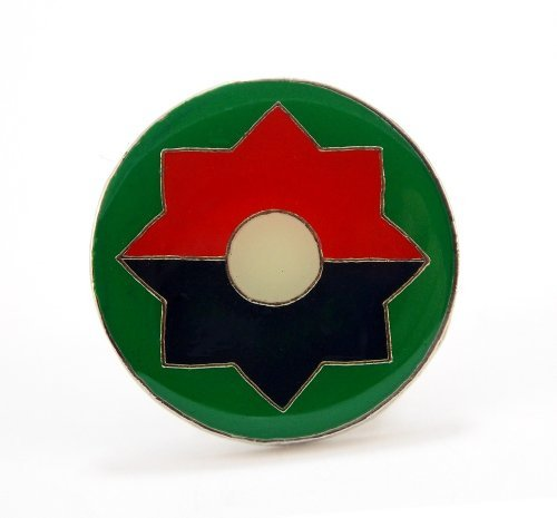 (US Army 9th Infantry Division Lapel Hat Pin Gift Military PPM657)