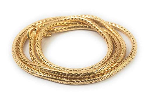 SUKRA GOLD Golden Copper Gold Plated Chain for Women