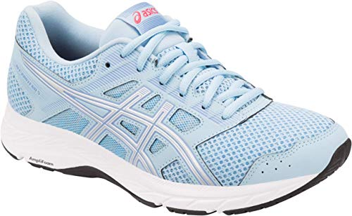 ASICS Gel-Contend 5 Women's Running Shoe, Skylight/Silver, 6 M US