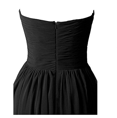 KA Beauty Damen Kleid Dunkelrot MN09aKOU2U