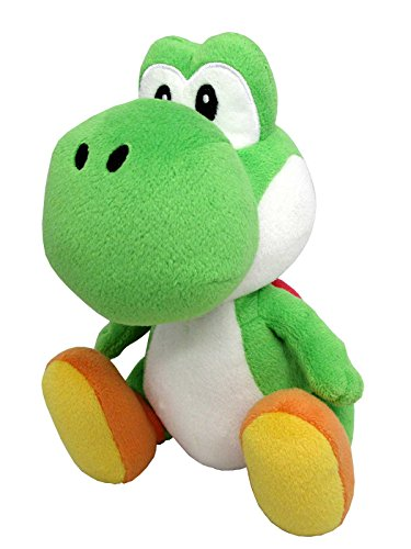 Sanei Super Mario All Star Collection 8  Yoshi Plush  Small