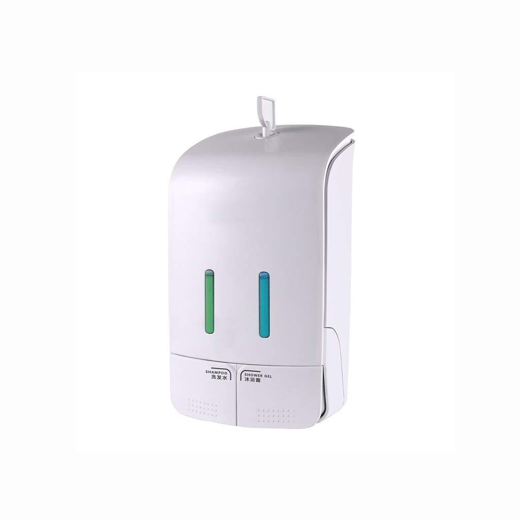 Soap Dish Soap Dispenser Wall Hanging Soap Dispenser Hotel Household Bathroom Soap Bottle Free Punching Shampoo Shower Gel Box Household/Commercial 550 Ml New by Makano