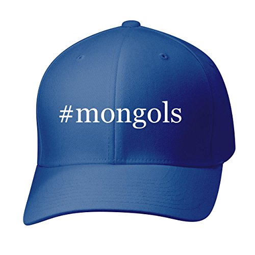 BH Cool Designs #mongols - Baseball Hat Cap Adult, Blue, Small/Medium