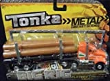 Tonka Metal Diecast Bodies, Big Rig. Flatbed Logger Truck. 1:55th Scale.