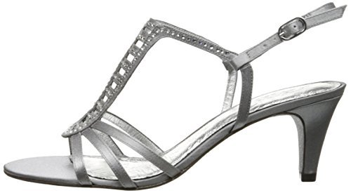 Adrianna Papell Women's Ainsley Dress Sandal, Pewter, 7 M US