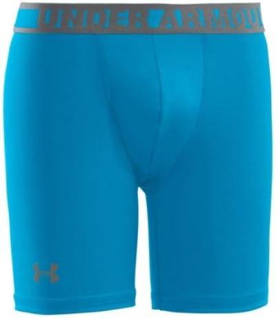 10 cm Pantaloni Corti Aderenti da Ragazzo Under Armour HeatGear Sonic