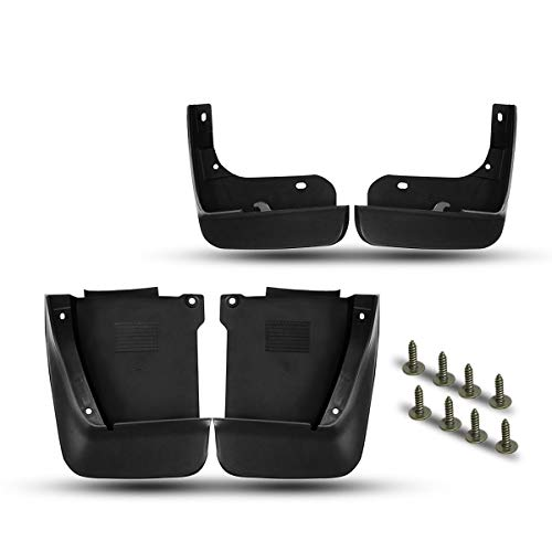 A-Premium Mud Flaps Splash Guards for Honda Accord 2003-2007 Front and Rear 4-PC Set