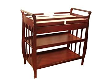 Attrayant AFG Athena Nadia Changing Table   Cherry   3353C
