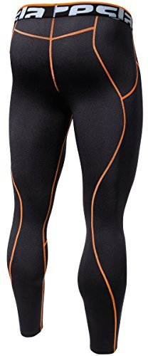 Tesla TM-P33-BOZ_X-Large J-OWT Men's Thermal Wintergear Compression Baselayer Pants Leggings Tights P33