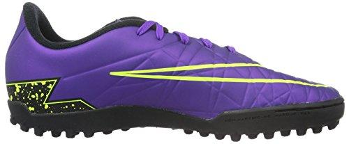 Nike Unisex-Kinder Hypervenom Phelon II TF Fußballschuhe Morado (Hyper Grape / Hypr Grape Blk Vlt)