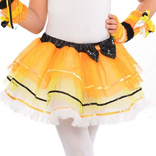 Candy Corn Tutu Costume (amscan Candy Corn Fairy Tutu - Child Standard | 3)