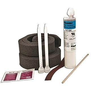 American polywater fst-250kit1 espuma de poliuretano conducto sellador Kit 8,5 oz láser ámbar resina clara secado agente: Amazon.es: Amazon.es