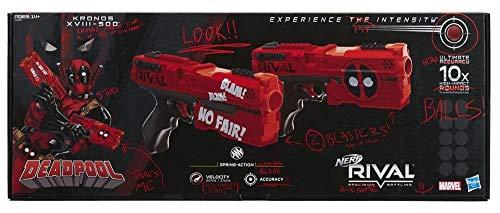 Nerf Rival Deadpool Kronos Xviii 500 Dual Pack Buy