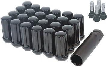 Top Line C239056B Black Lug Nut