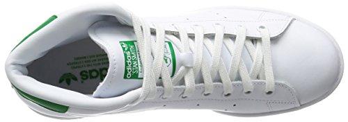 Green Hombre Ftwwht Smith para Mid adidas Ftwwht Zapatillas Altas Stan U7qznvAw