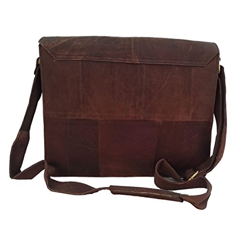 Bag Shoulder Men's Casual Leather Genuine Buffalo Messenger Travel On Business Carry xpYH6t0