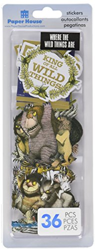 Paper House Self-Adhesive Die-Cuts 36/Pkg-Where The Wild Things Are -