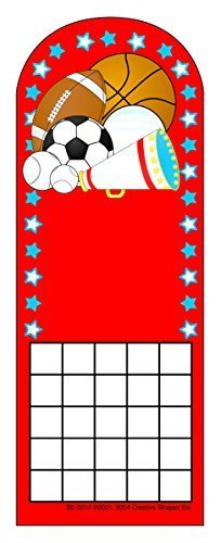 Sports Personal Incentive Chart by Creative Shapes - Sports Incentive Chart