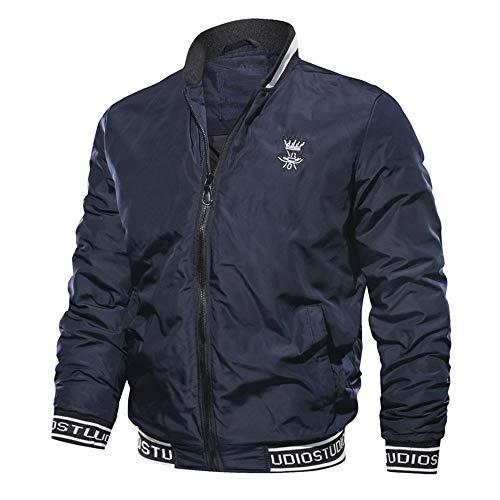 Jean Mode Solde Chaud Noir Veste Bleu Taille Homme Casual 1 En Grande Hiver Longues Manches Épais Jacket Innerternet Blouson Outwear Bomber Zip vw4dXv