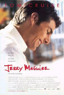 - Jerry Maguire - Movie Poster (Size: 27'' x 40'')