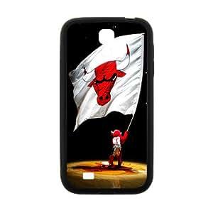 Chicago Bulls NBA Black Phone Case for Samsung Galaxy S4 Case