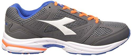 Mixte Shape Diadora Grigio Adulte arancio Chaussures Gris 4 qFqWwHt7