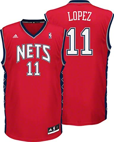 new arrival bf99e e869e Amazon.com : Adidas New Jersey Nets Brook Lopez New ...