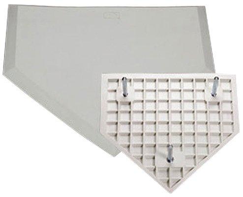 Schutt Throw Down Home Plate (White) [並行輸入品] B07QP72MS5