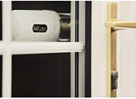 Patlock Security Lock for French Doors- Straight Handle Security Solution!