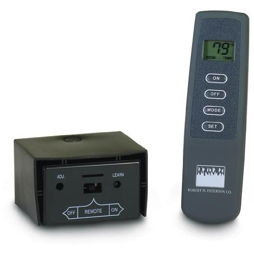 Peterson Gas Logs Deluxe On/Off Remote Receiver/Transmitter Set For -10,-11,-12 & -01 Pilot Kits Only