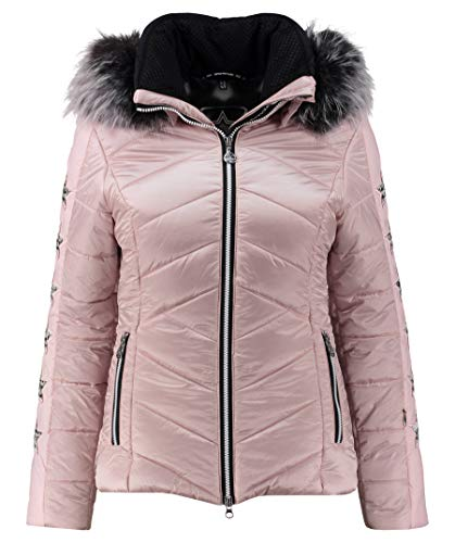 SPORTALM Blanche Insulated Ski Jacket with Real Fur Womens