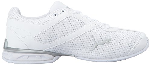 6 White puma Puma Silver Knit Tazon PUMA Women's Wn Sneaker 01S66x