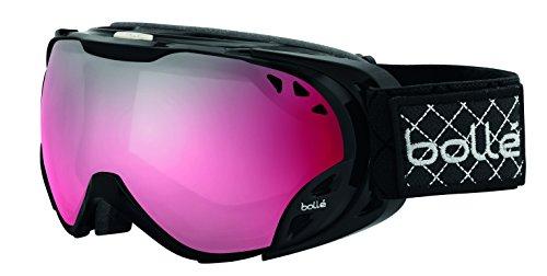 Bolle Duchess Goggles, Shiny Black, Vermillion Gun - Ski Bolle Modulator Goggles Vermillion