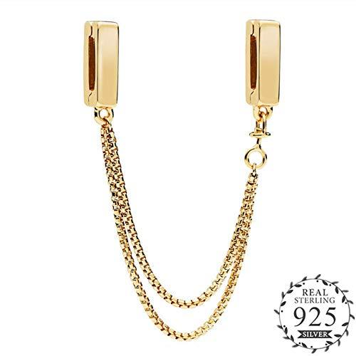 2be1ebdc30e60 Amazon.com: TTO Beads - New Gold Shine Reflexions Charms fit Pandora ...