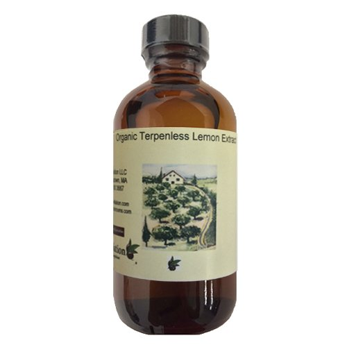 Organic Terpeneless Lemon Extract 128 oz by OliveNation