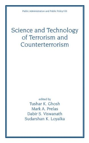 Science and Technology of Terrorism and Counterterrorism (Public Administration and Public Policy) (v. 100) by Brand: CRC Press