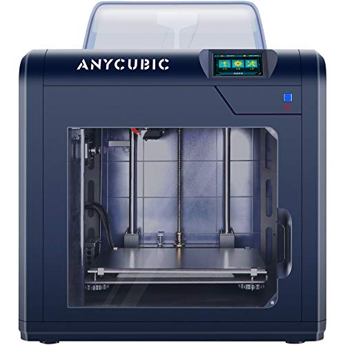 ANYCUBIC 3D Printer, 4Max Pro 2.0 Upgraded Metal FDM 3D Printer, Fully Enclosed, TFT Touchscreen, Ultra-Silent, Works…